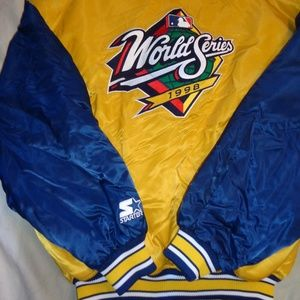 STARTER Jackets & Coats - Starter 1998 MLB World Series Jacket Large Men